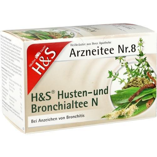 H&S Husten- und Bronchialtee N Filterbeutel