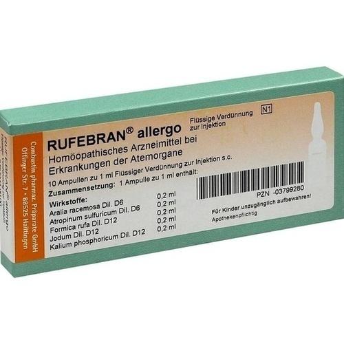 RUFEBRAN allergo Ampullen