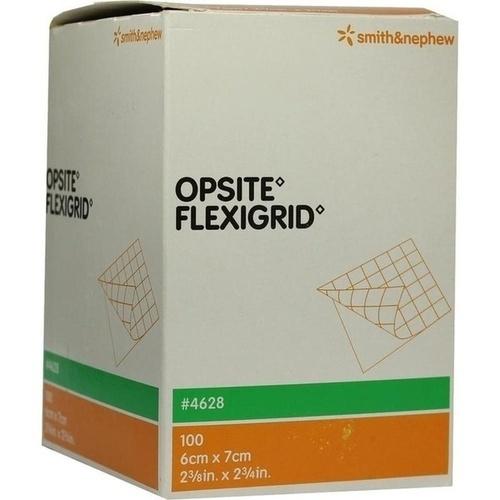 OPSITE Flexigrid transp. Wundverb. 6x7 cm steril