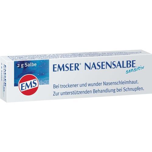 Siemens & Co GmbH & Co. KG PZNEMSER Nasensalbe Sensitiv 2 g 530559