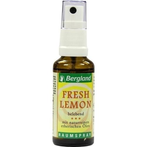 raumspray fresh lemon 30 ml bergland therische le. Black Bedroom Furniture Sets. Home Design Ideas