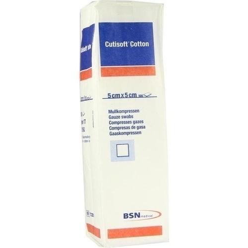 CUTISOFT Cotton Kompr.5x5 cm unster.12fach