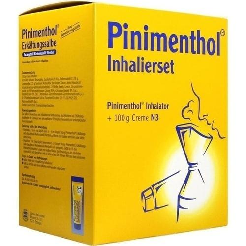 PINIMENTHOL Inhalierset 100g Kombipackung