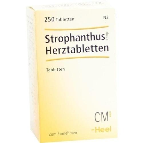 STROPHANTHUS COMP. Herztabletten