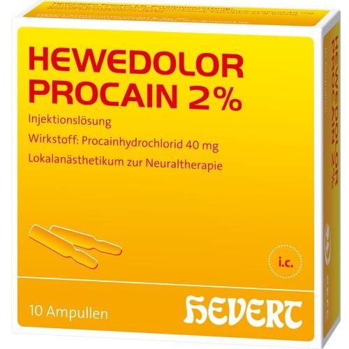 HEWEDOLOR Procain 2% Ampullen