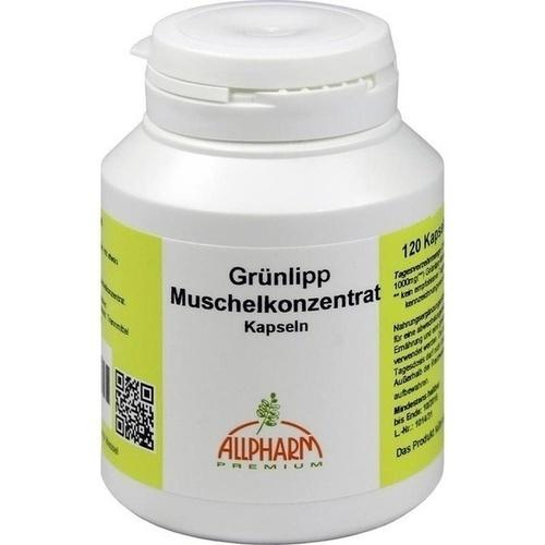GRÜNLIPPMUSCHEL Konzentrat 500 mg Kapseln 120 St
