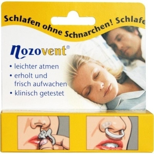 NOZOVENT Nasenklammern