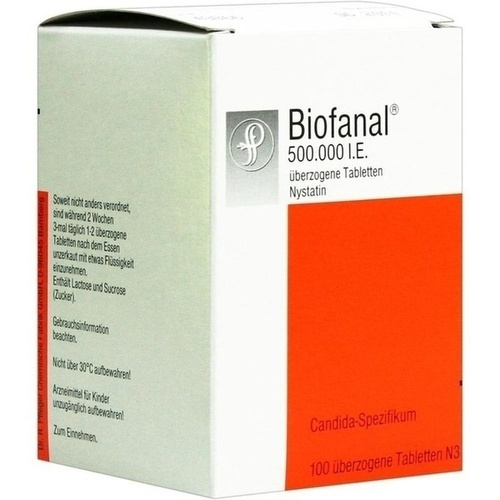 BIOFANAL tablete concentrate