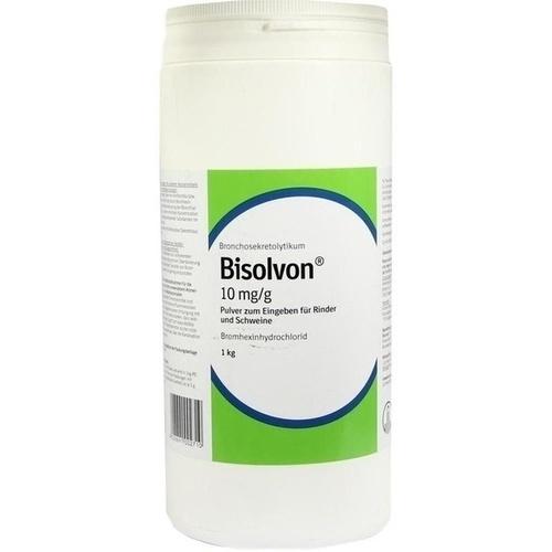 BISOLVON 10 mg/g Pulver f.Rinder/Schweine