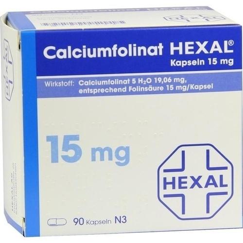 CALCIUMFOLINAT HEXAL Kapseln 15 mg