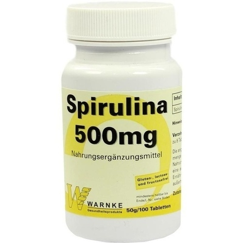 SPIRULINA 500 Tabletten