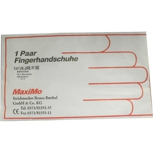 Strickmoden Bruno Barthel GmbH & Co. KG HANDSCHUHE Baumwolle Gr.8 Kinder 2 St