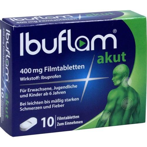 IBUFLAM akut 400 mg Filmtabletten