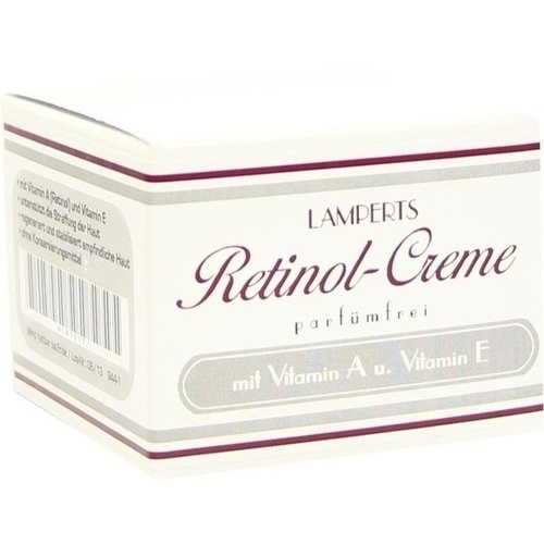 retinol creme parf mfrei lamperts 50 ml. Black Bedroom Furniture Sets. Home Design Ideas