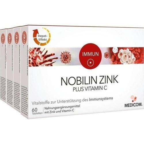 nobilin zink plus vitamin c tabletten 240 st g. Black Bedroom Furniture Sets. Home Design Ideas
