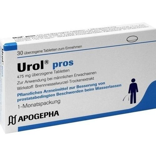 UROL PROS überzogene Tabletten