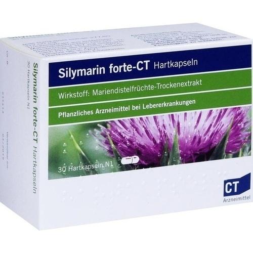 SILYMARIN forte-CT Hartkapseln