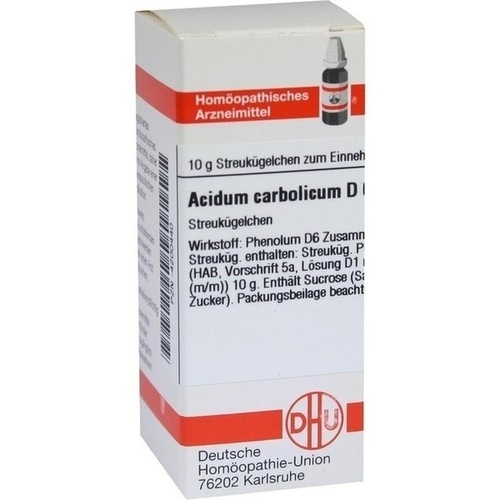 ACIDUM CARBOLICUM D 6 Globuli