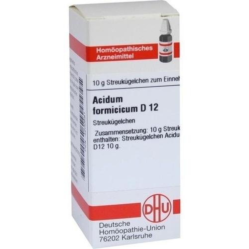 ACIDUM FORMICICUM D 12 Globuli