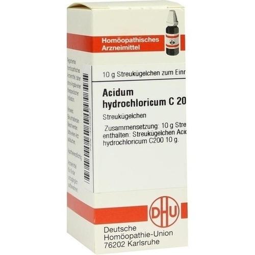 ACIDUM HYDROCHLORICUM C 200 Globuli