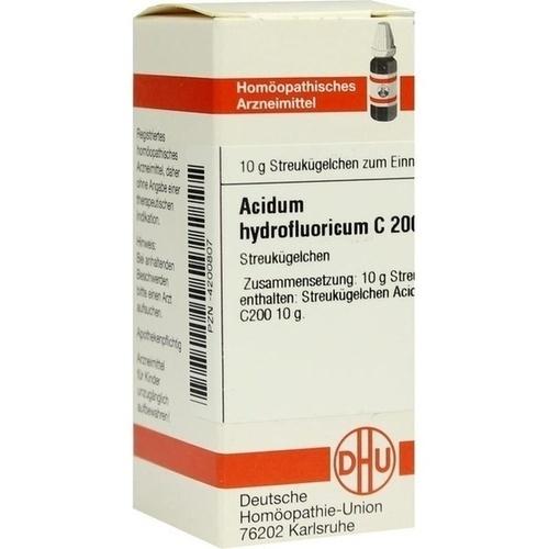 ACIDUM HYDROFLUORICUM C 200 Globuli