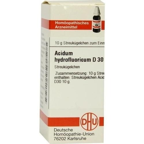 ACIDUM HYDROFLUORICUM D 30 Globuli