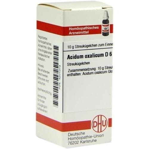 ACIDUM OXALICUM D 6 Globuli
