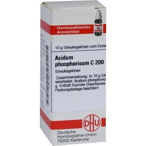ACIDUM PHOSPHORICUM C 200 Globuli
