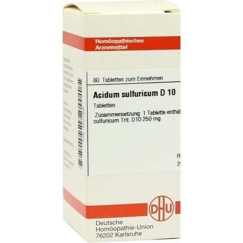 ACIDUM SULFURICUM D 10 Tabletten