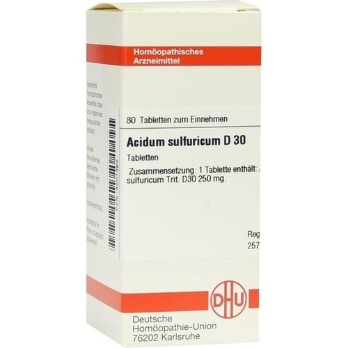ACIDUM SULFURICUM D 30 Tabletten