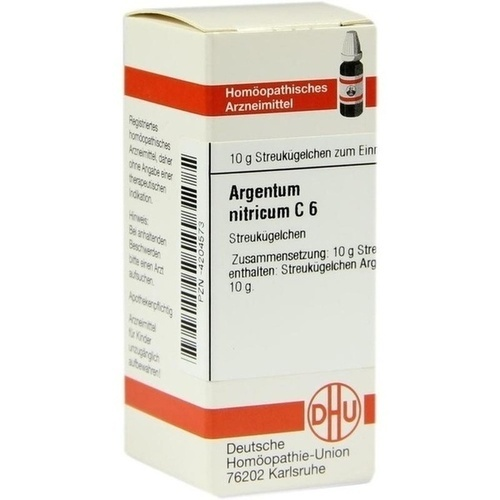 ARGENTUM NITRICUM C 6 Globuli