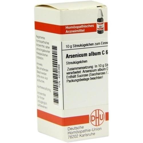 ARSENICUM ALBUM C 6 Globuli