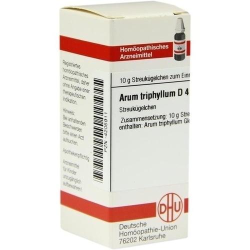 ARUM TRIPHYLLUM D 4 Globuli