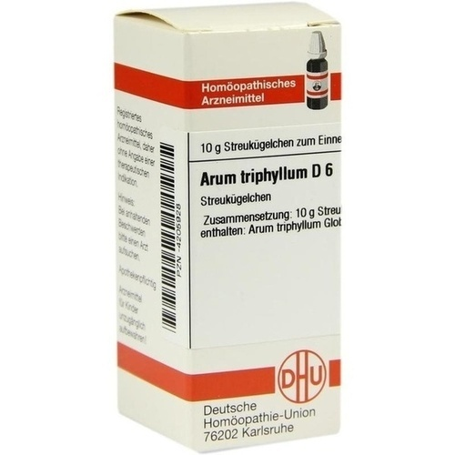 ARUM TRIPHYLLUM D 6 Globuli