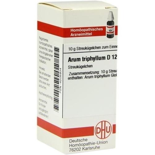 ARUM TRIPHYLLUM D 12 Globuli