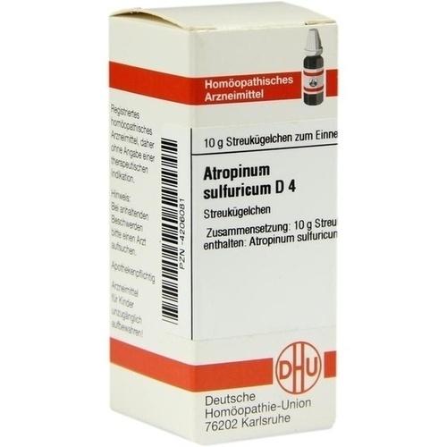 ATROPINUM SULFURICUM D 4 Globuli