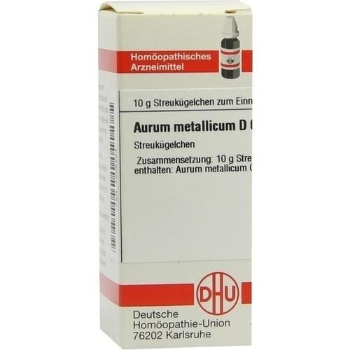 AURUM METALLICUM D 60 Globuli