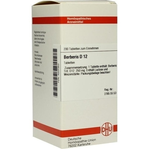 BERBERIS D 12 Tabletten