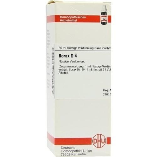 BORAX D 4 Dilution