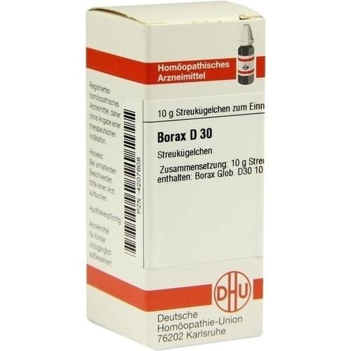 BORAX D 30 Globuli