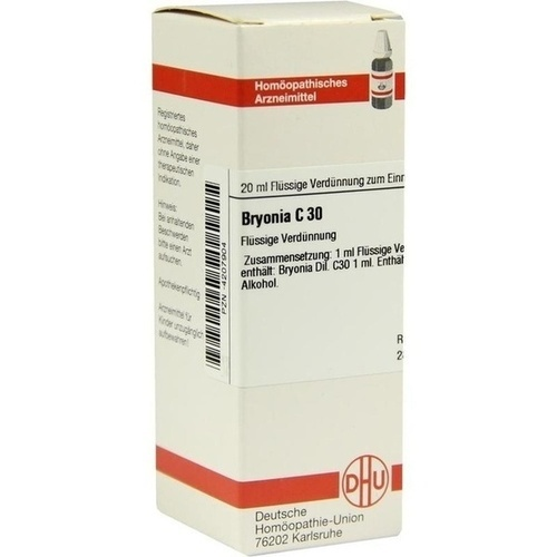 BRYONIA C 30 Dilution