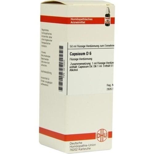 CAPSICUM D 6 Dilution
