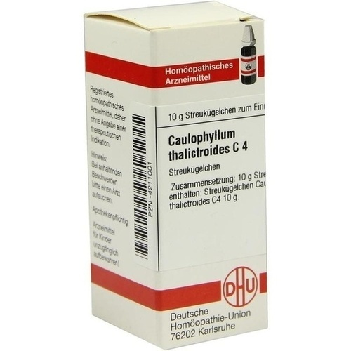 CAULOPHYLLUM THALICTROIDES C 4 Globuli
