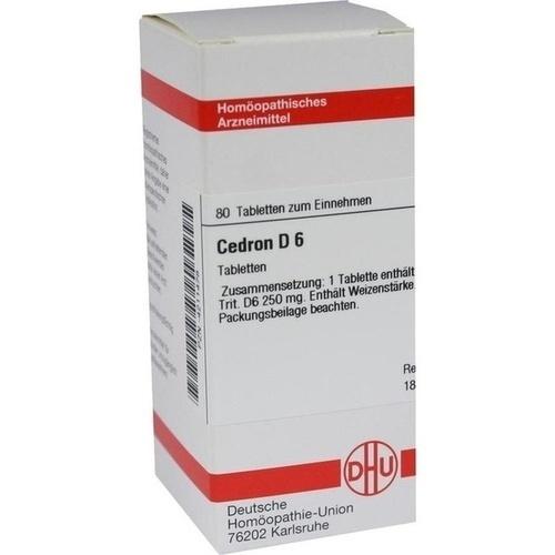 CEDRON D 6 Tabletten