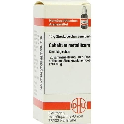 COBALTUM METALLICUM D 30 Globuli