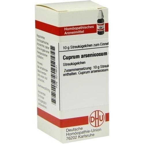 CUPRUM ARSENICOSUM C 30 Globuli