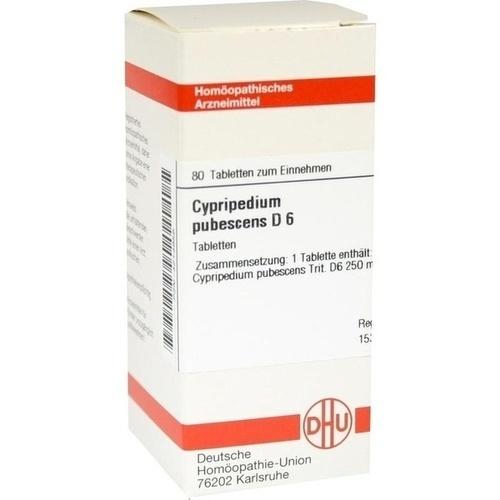 CYPRIPEDIUM PUBESCENS D 6 Tabletten