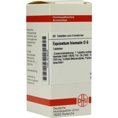 EQUISETUM HIEMALE D 6