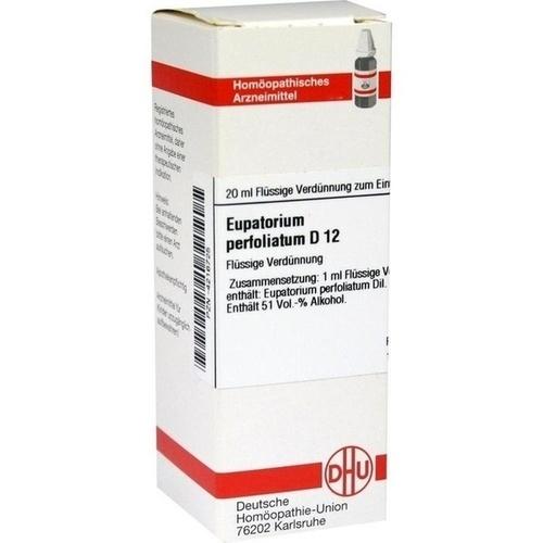 EUPATORIUM PERFOLIATUM D 12 Dilution