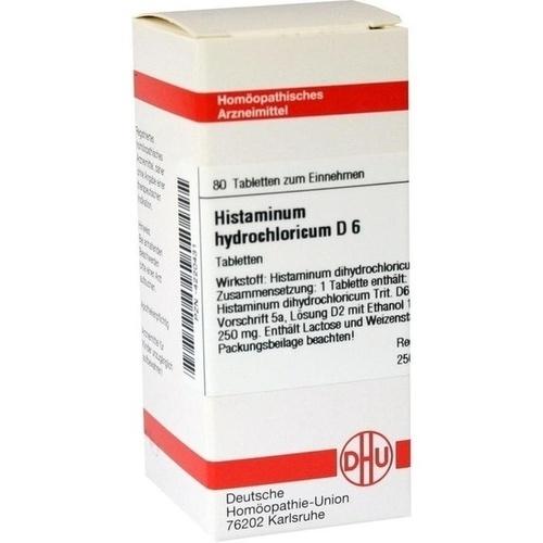 HISTAMINUM HYDROCHLOR D 6